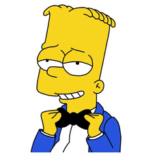 Bart Simpson Tuxedo and Bow Tie