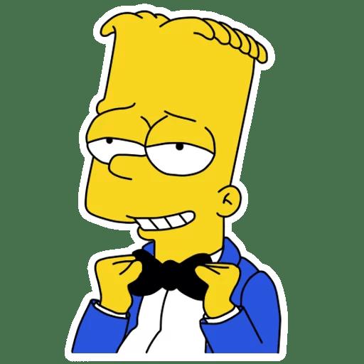 Bart Simpson Tuxedo and Bow Tie