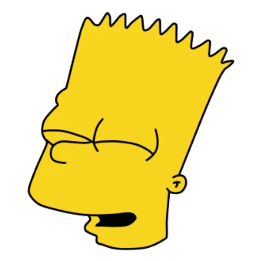 Bart Simpson Happy