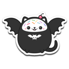 The Kawaii Kitty - Sugarhai Sticker