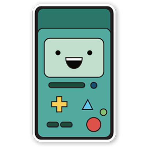 Adventure Time - BMO Sticker