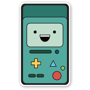Sticker Adventure Time - BMO