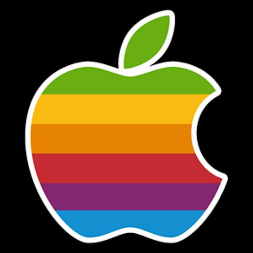 Apple Color Logo Sticker