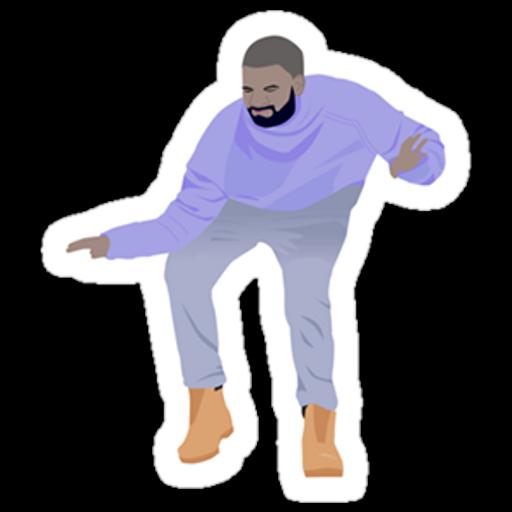 Dancing Drake Hotline Bling Sticker