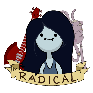 Adventure Time Marceline Radical