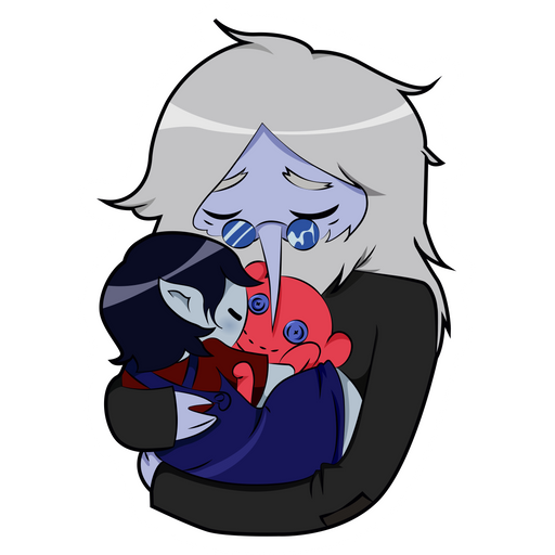 Adventure Time Simon and Marcy Sticker