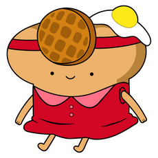 Adventure Time Toast Princess Sticker