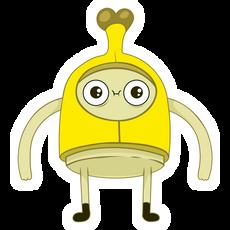 Adventure Time Banana Man Sticker