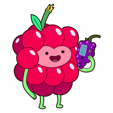 Adventure Time Wildberry Princess Sticker
