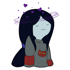 Marceline Fell in Love Sticker