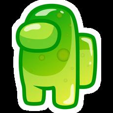 Among Us Jelly Character Sticker