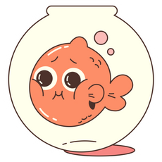 Aquarium Fish Sticker