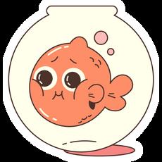 Aquarium Fish Sticker