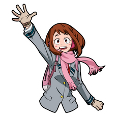 My Hero Academia Ochaco Uraraka Sticker