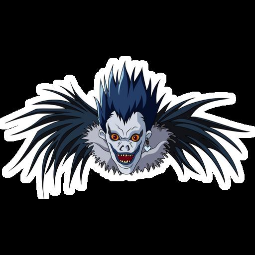 Death Note Ryuk Sticker