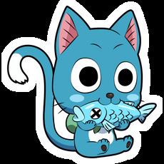 Fairy Tail Happy Sticker