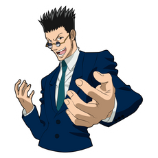 Hunter x Hunter Leorio Paradinight Sticker