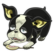 JoJo's Bizarre Adventure Iggy Sticker