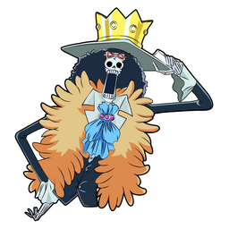 One Piece Brook Sticker