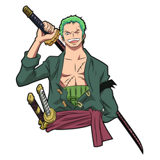 One Piece Roronoa Zoro Sticker