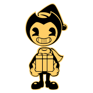 Christmas Bendy with a Gift