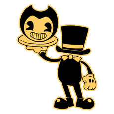 Magician Bendy Sticker