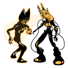 Ink Bendy vs the Projectionist