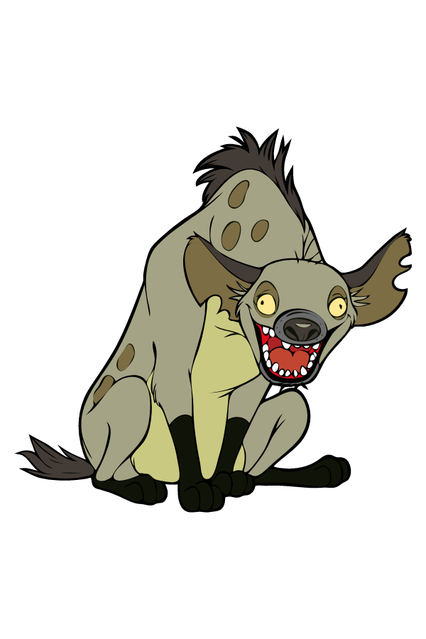 Lion King Hyena Sticker