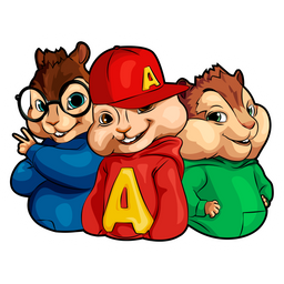 Alvin and the Chipmunks Sticker