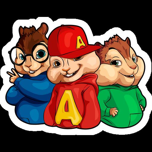 Alvin and the Chipmunks Sticker