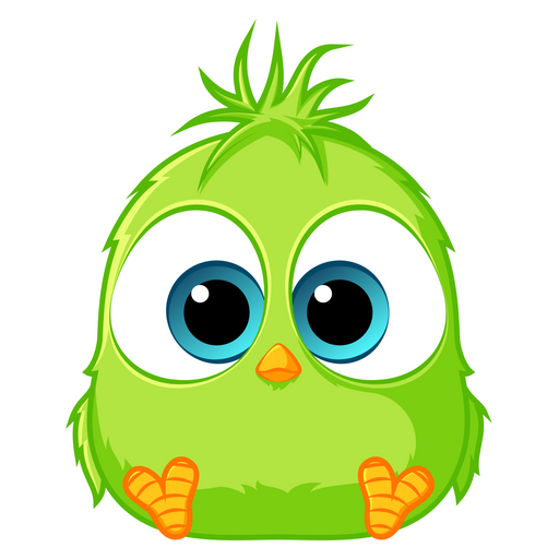 Angry Birds Vincent Sticker