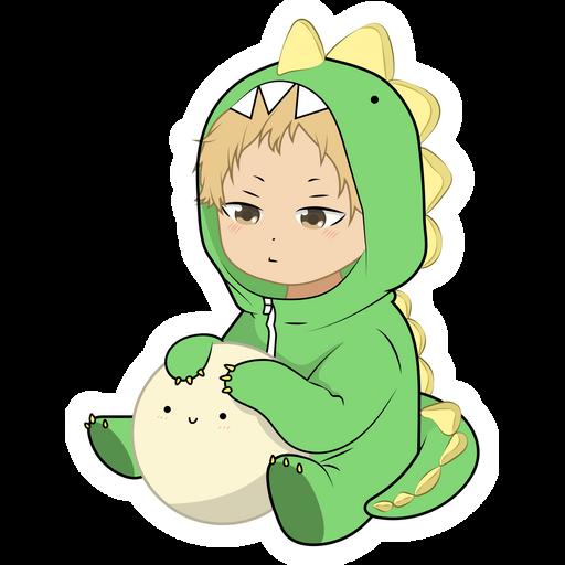 Haikyuu!! Tsukishima Sticker