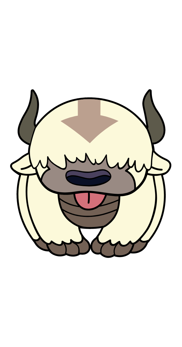 Avatar The Last Airbender Appa Sticker