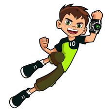 Ben 10 Ben Tennyson Sticker
