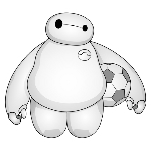 Big Hero 6 Baymax Sticker