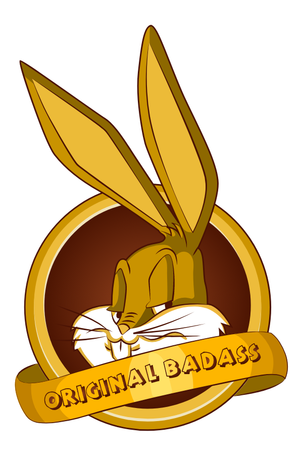 Bugs Bunny Original Badass Sticker