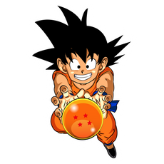 Dragon Ball Goku Sticker