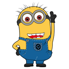Minion Kevin Sticker