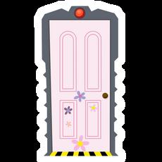 Monsters Inc Boo's Door Sticker