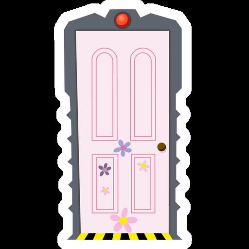 Monsters Inc Boo S Door Sticker Sticker Mania