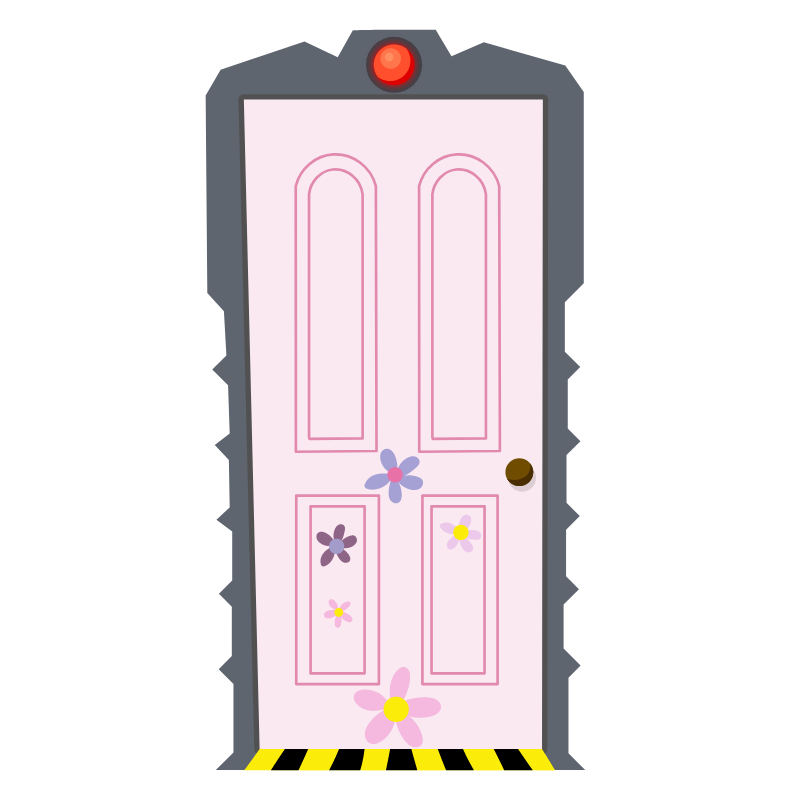 Monsters Inc Boo's Door Sticker