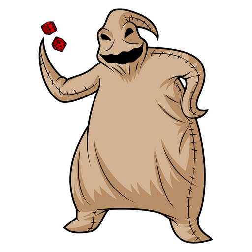 The Nightmare Before Christmas Oogie Boogie Sticker