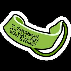 Finding Nemo P Sherman Mask Strap