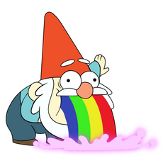 Gravity Falls Shmebulock Sticker