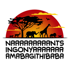 The Lion King Nants Ingonyama Bagithi Baba Sticker