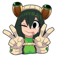 My Hero Academia Tsuyu Asui Sticker