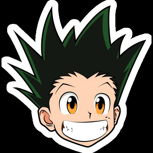 Hunter x Hunter Smiling Gon Freecss Sticker