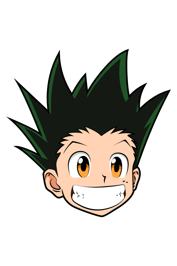 Hunter x Hunter Smiling Gon Freecss Sticker