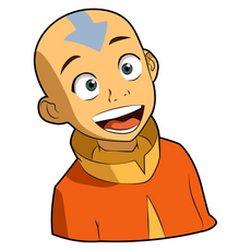 Avatar The Last Airbender Aang Sticker