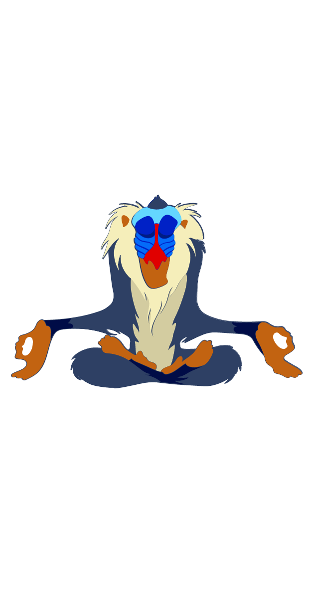 The Lion King Rafiki Sticker